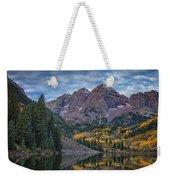 Maroon Bells Colorado Dsc06628 Weekender Tote Bag