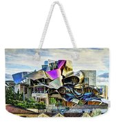 marques de riscal Hotel at sunset - frank gehry - vintage version Weekender Tote Bag