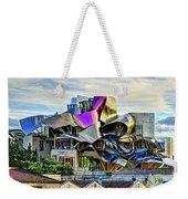 marques de riscal Hotel at sunset - frank gehry Weekender Tote Bag