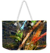 Married With Children Dragonflies Mating Weekender Tote Bag