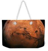 Mars The Red Planet Weekender Tote Bag