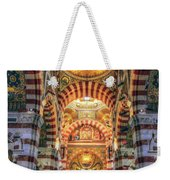 Marseille, France, Inside Of Notre-dame De La Garde Catholic Basilica Weekender Tote Bag