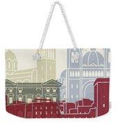 Marseille Skyline Poster Weekender Tote Bag