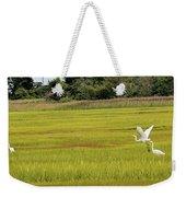 Marsh Egrets Weekender Tote Bag