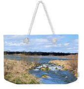 Marsh Spill Way Weekender Tote Bag