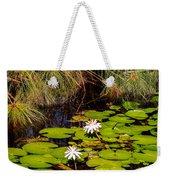 Marsh Waterlilies  Weekender Tote Bag
