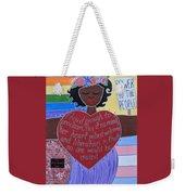 Marsha P Johnson Weekender Tote Bag