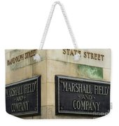 Marshal Field And Company Weekender Tote Bag