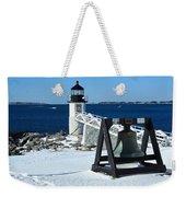 Marshall Point Snow Weekender Tote Bag