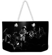 Marshall Tucker Winterland 1975 #12 Enhanced Bw Weekender Tote Bag