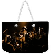 Marshall Tucker Winterland 1975 #12 Enhanced In Amber Weekender Tote Bag