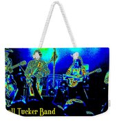 Marshall Tucker Winterland 1975 #18 In Special Cosmicolors With Text Weekender Tote Bag