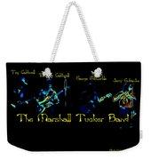 Marshall Tucker Winterland 1975 #19 Enhanced In Cosmicolors With Text Weekender Tote Bag