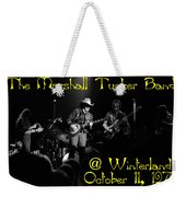 Marshall Tucker Winterland 1975 #3 Crop 2 With Text Weekender Tote Bag