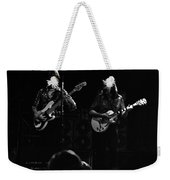 Marshall Tucker Winterland 1975 #36 Enhanced Bw Weekender Tote Bag