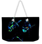Marshall Tucker Winterland 1975 #36 Enhanced In Cosmicolors With Text Weekender Tote Bag