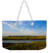 Marshland Charleston South Carolina Weekender Tote Bag