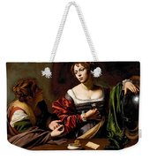 Martha And Mary Magdalen Weekender Tote Bag