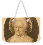 Martha Washington, American Patriot Weekender Tote Bag