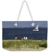 A Day At The Beach 2 - Martha's Vineyard Weekender Tote Bag
