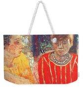 marthe in red blouse c1928 Pierre Bonnard Weekender Tote Bag