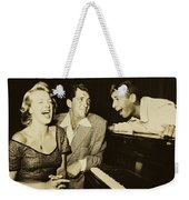 Martin, Lewis, And Clooney Weekender Tote Bag
