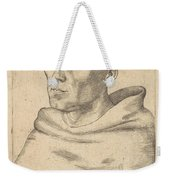 Martin Luther As An Augustinian Monk Weekender Tote Bag