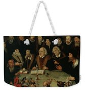 Martin Luther In The Circle Of Reformers Weekender Tote Bag