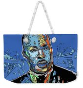 Martin Luther King Color Weekender Tote Bag