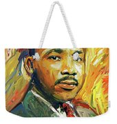Martin Luther King Portrait 2 Weekender Tote Bag