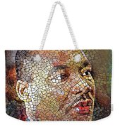 Martin Luther King Portrait Mosaic 1 Weekender Tote Bag