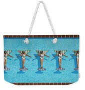 Martini Girls Weekender Tote Bag