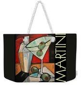 Martini Poster Weekender Tote Bag
