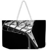 Martini Sign B-w Weekender Tote Bag