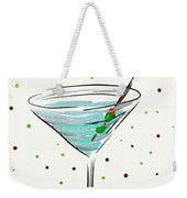 Martini Time  Weekender Tote Bag