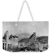 Martinique: Ruins Weekender Tote Bag