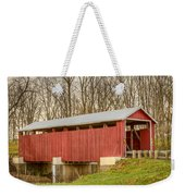 Martinsville Covered Bridge Weekender Tote Bag