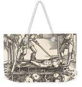 Martyrdom Of Saint Lawrence Weekender Tote Bag
