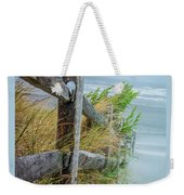 Marvel Of An Ordinary Fence Weekender Tote Bag