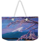 Marvellous Mount Fuji With Cherry Blossom In Japan Weekender Tote Bag