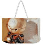 Marvin, Paranoid Android In A Box Weekender Tote Bag