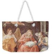 Mary And Angels 1611 Weekender Tote Bag
