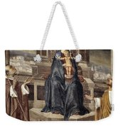 Mary And Baby Jesus Weekender Tote Bag