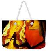 Mary And Joseph Weekender Tote Bag