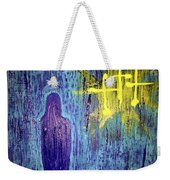 Mary And The Crosses Weekender Tote Bag