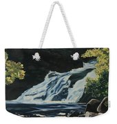 Mary Ann Falls On The Cabot Trail Weekender Tote Bag