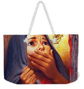 Mary At The Cross - Lgmrc Weekender Tote Bag