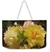 Mary Beth's First Spring Flowers Weekender Tote Bag