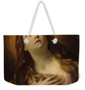 Mary Magdalene In Ecstasy At The Foot Of The Cross 1629 Weekender Tote Bag
