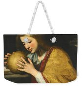 Mary Magdalene In Meditation  Weekender Tote Bag